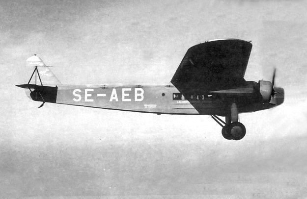 1927 KLM Fokker F.VIII crash