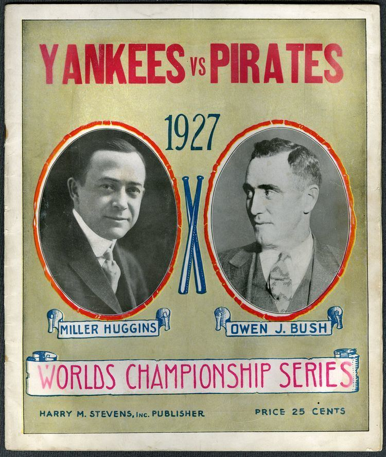 1927 World Series Lot Detail 1927 World Series Program From Game 3 A Babe Ruth