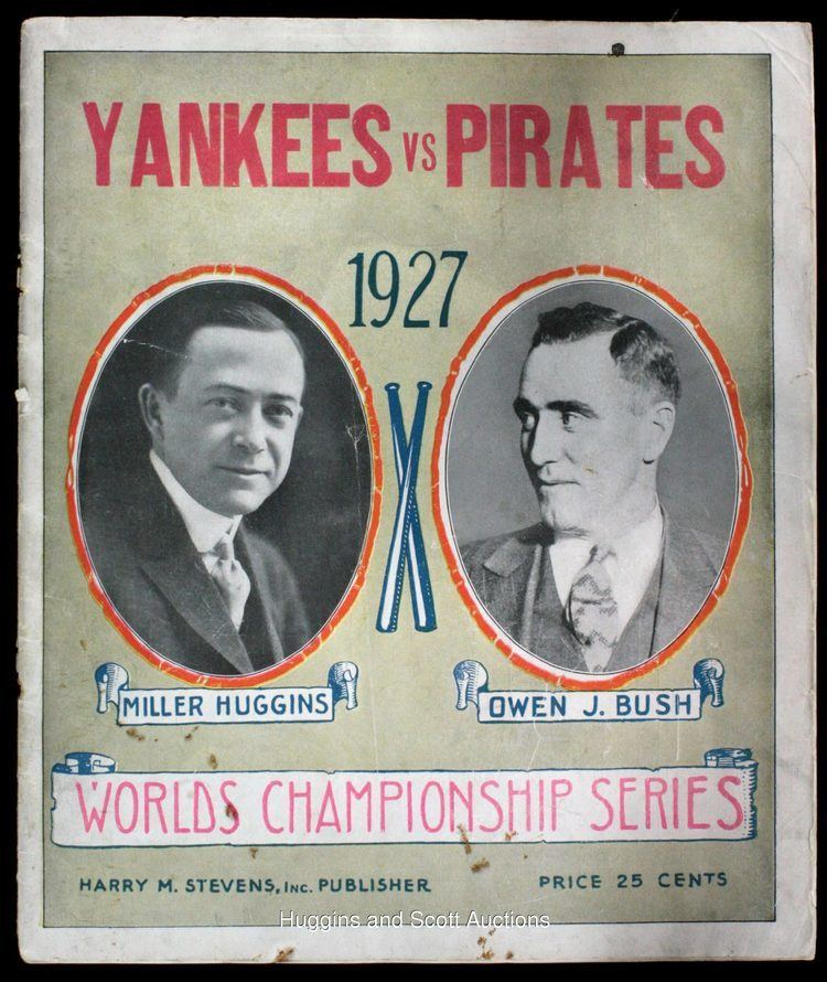1927 World Series 1927 World Series ProgramYankees vs Pirates