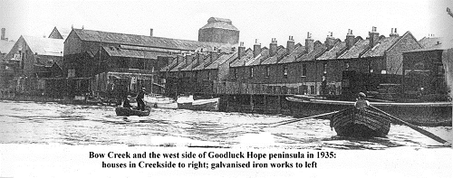 1928 Thames flood Thames Flood 1928 Isle of Dogs Life