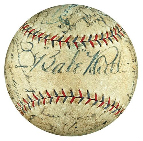 1929 New York Yankees season wwwrobertedwardauctionscomauction2008spring1