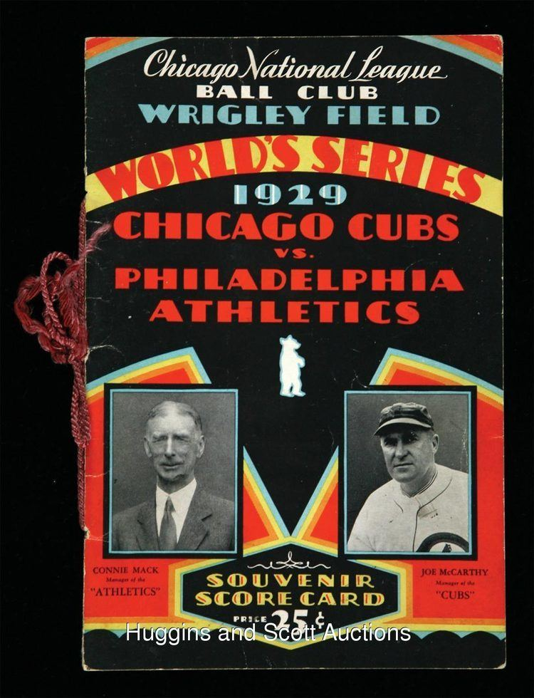 1929 World Series oct08hugginsandscottcompl90501929worldserie