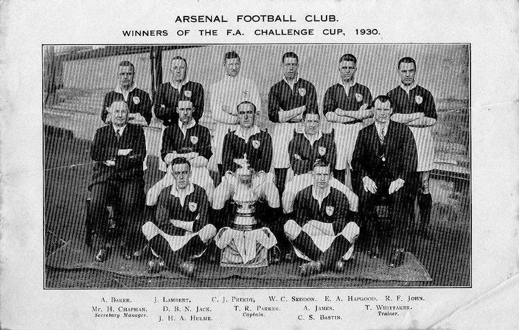 1930 FA Cup Final fa cup semifinal ArsenalOneTwoFive