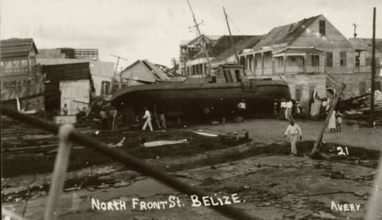 1931 Belize hurricane 1931 Hurricane Belize British Honduras Tropical Storms