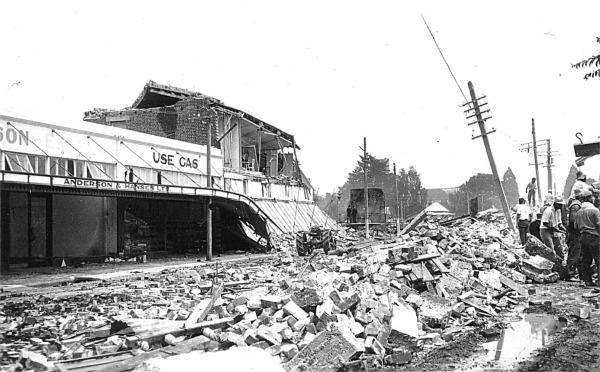 1931 Hawke's Bay earthquake Hawke39s Bay Earthquake 1931 Photo Gallery Hastings District