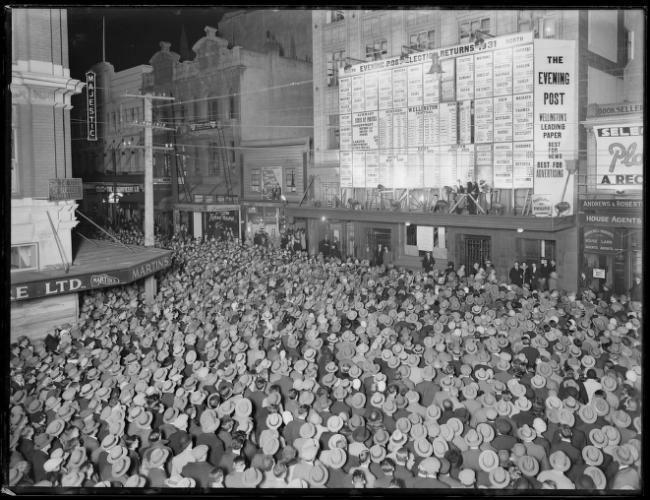 1931 in New Zealand