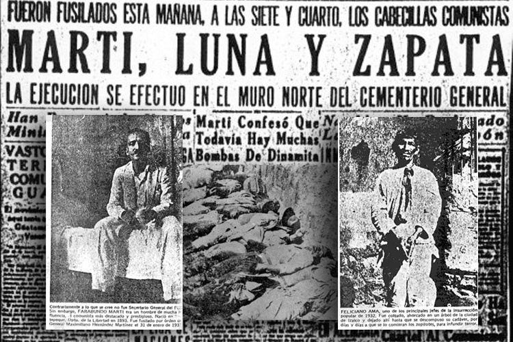 1932 Salvadoran peasant massacre 1932 Salvadoran peasant massacre