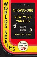 1932 World Series wwwbaseballalmanaccomimages1932wsprogram2jpg
