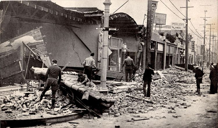 1933 Long Beach earthquake 1933 Long Beach Earthquake Flickr
