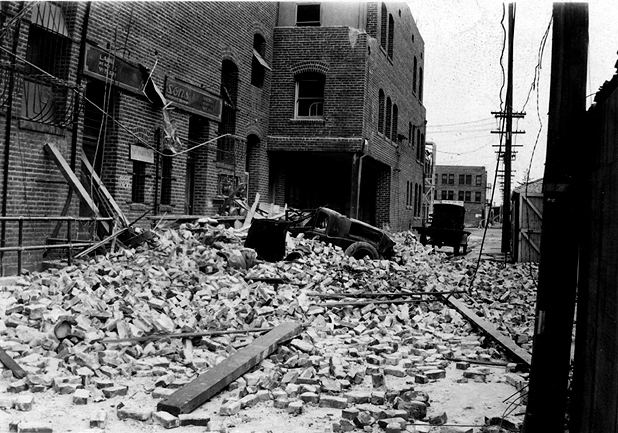 1933 Long Beach earthquake March 1933 Long Beach CA Earthquake