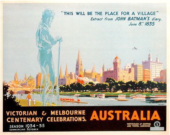 1934 Centenary of Melbourne