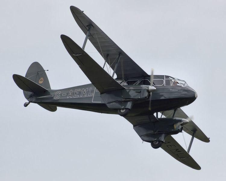 1934 Hillman's Airways de Havilland Dragon Rapide crash