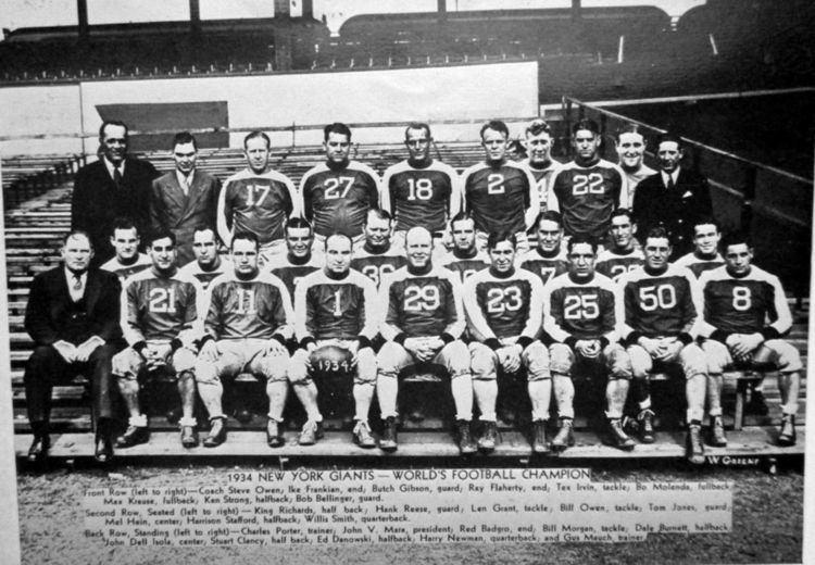 1934 New York Giants season