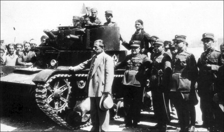 1935 Greek coup d'état attempt