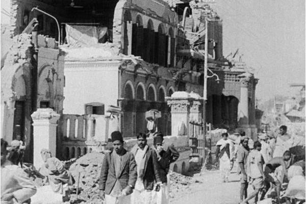1935 Quetta earthquake Earthquake in Balochistan 1935 The Friday Times