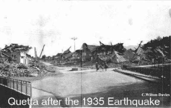 1935 Quetta earthquake World War II Memories The Great Quetta JOHN ERNEST BROWN