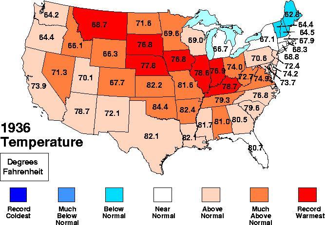 1936 North American heat wave