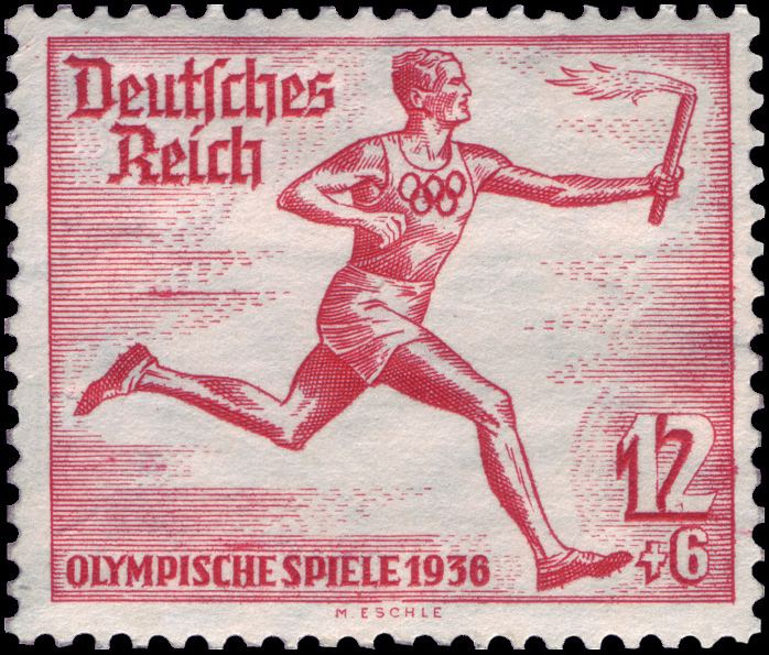 1936 Summer Olympics torch relay