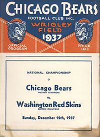 1937 NFL Championship Game goldenrankingscomFootball20Pictures202NFL20C