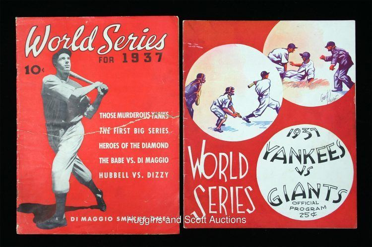 1937 World Series 1930s World Series Lot of 5 Collectibles