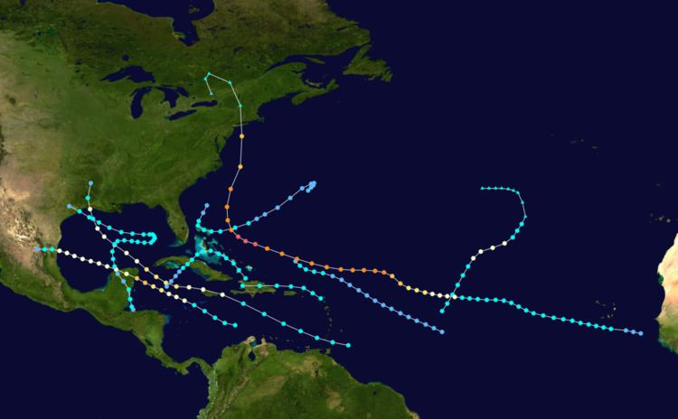 1938 Atlantic hurricane season