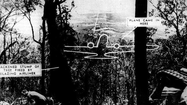 1938 Kyeema crash The Kyeema plane crash in Mt Dandenong in 1938 killed 18 people and
