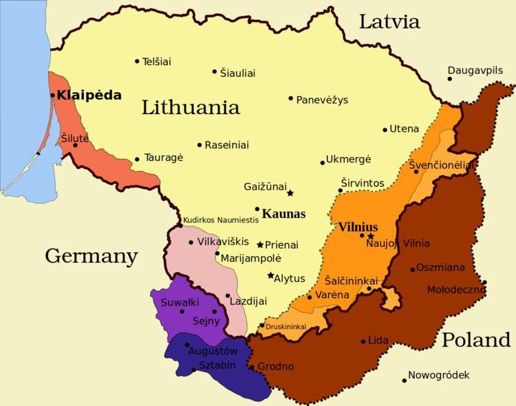 1938 Polish ultimatum to Lithuania