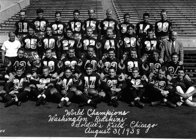 1938 Washington Redskins season