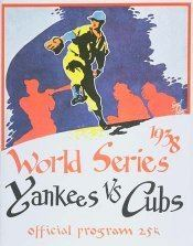 1938 World Series wwwbaseballalmanaccomimages1938wsprogramjpg
