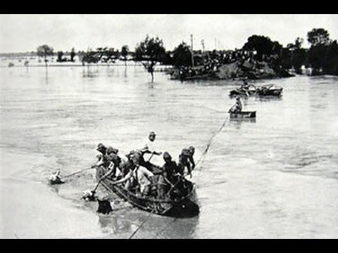 1938 Yellow River flood 1938 Yellow River flood by SinoGerman Cooperation until 1941 YouTube