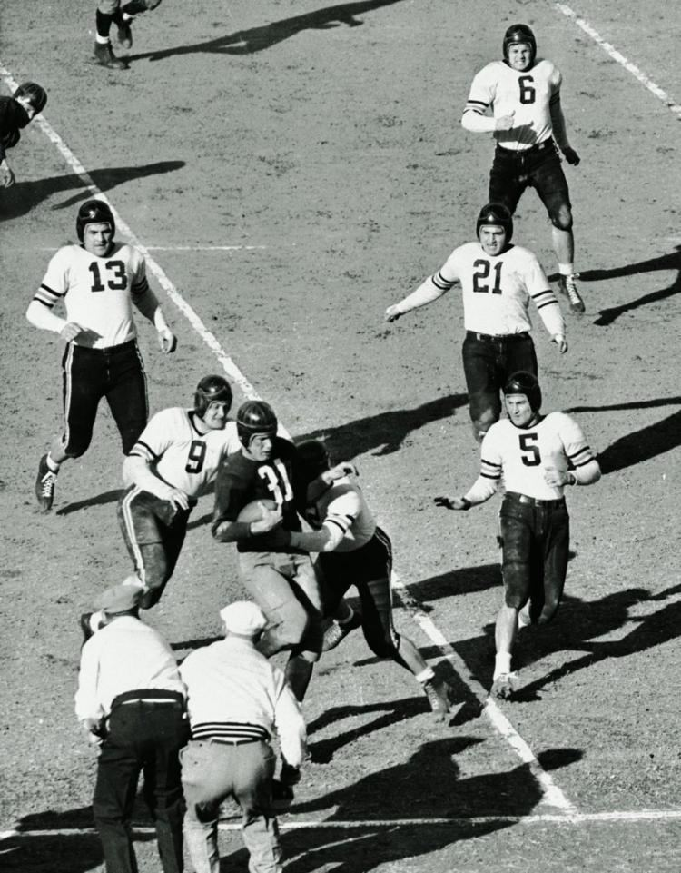 1940 NFL Championship Game Bears blow out Washington 730 in 1940 to win NFL title NY Daily News