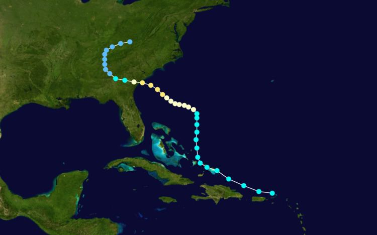 1940 South Carolina hurricane