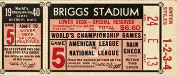 1940 World Series 1940 World Series by Baseball Almanac