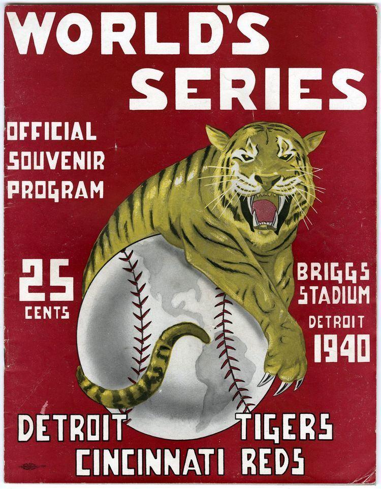 1940 World Series Lot Detail 1940 World Series Program