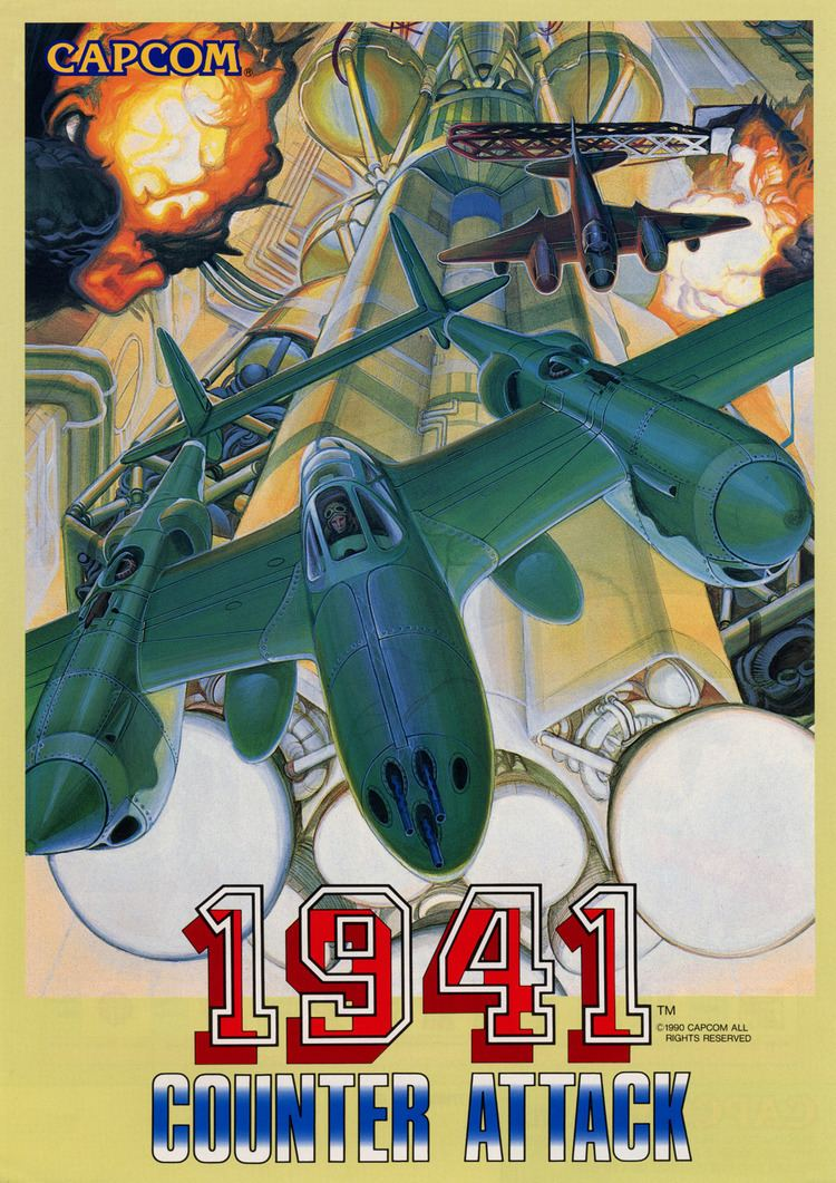 1941: Counter Attack Flyer Fever 1941 Counter Attack