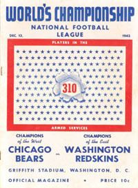 1942 NFL Championship Game goldenrankingscomFootball20Pictures202NFL20C
