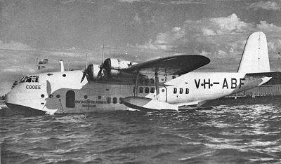 1942 Qantas Short Empire shootdown