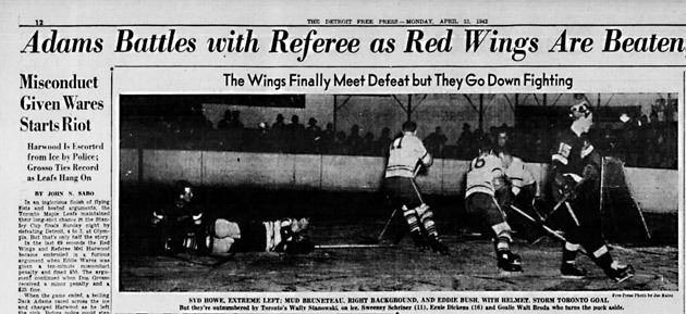 1942 Stanley Cup Finals cdns3sicomimagesGame4riotclipjpg