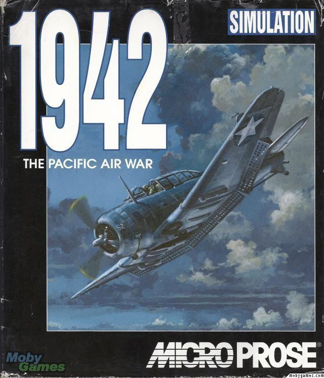 1942: The Pacific Air War 1942 Pacific Air War Box Art