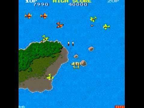 1942 (video game) 1942 arcade game by Capcom 1984 retro oldskool video game YouTube