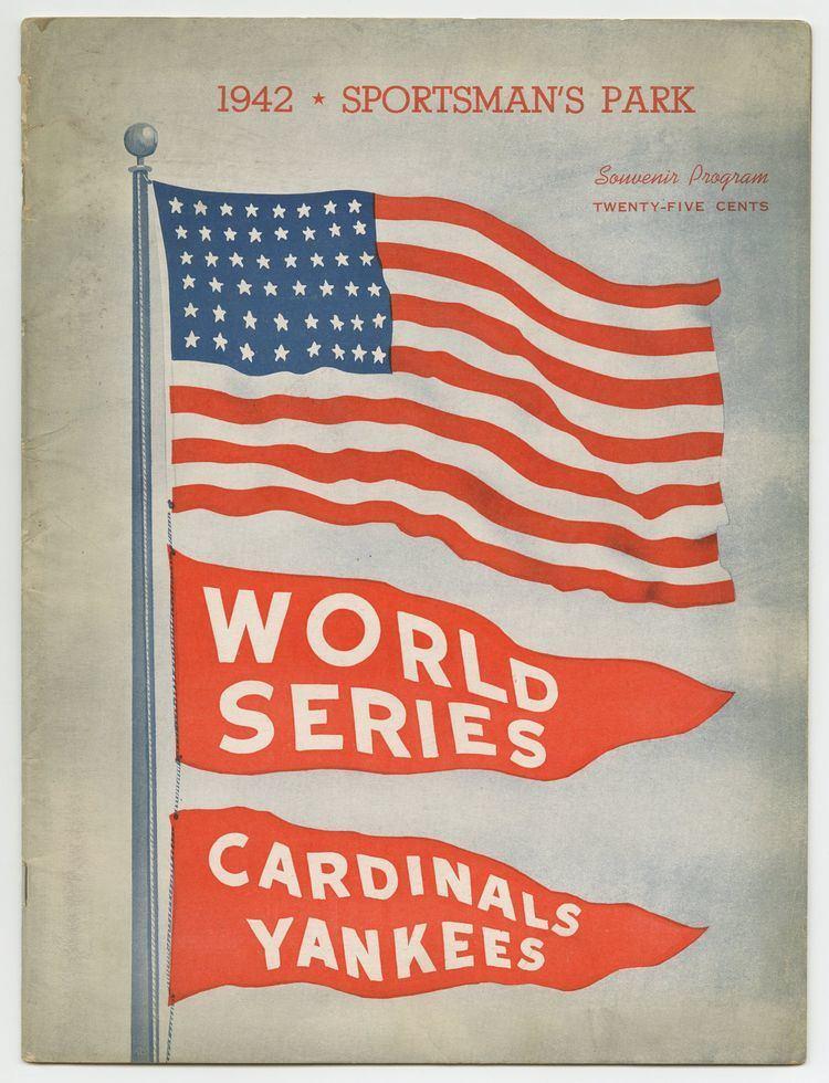 1942 World Series Lot Detail 1942 World Series Program Yankees vs Cardinals