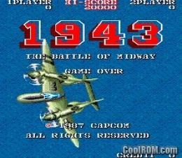 1943: The Battle of Midway 1943 The Battle of Midway Euro ROM Download for MAME CoolROMcom
