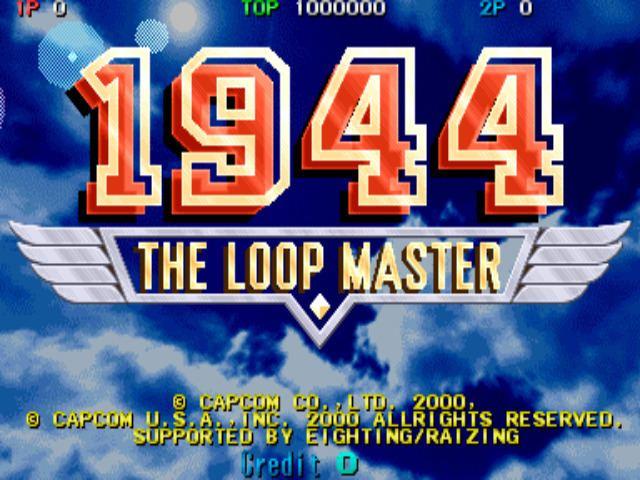 1944: The Loop Master 1944 The Loop Master USA 000620 ROM lt MAME ROMs Emuparadise