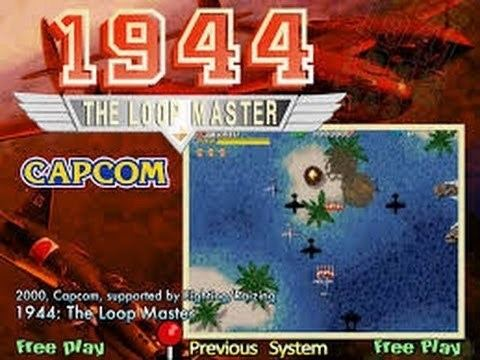 1944: The Loop Master 1944 The Loop Master Arcade YouTube
