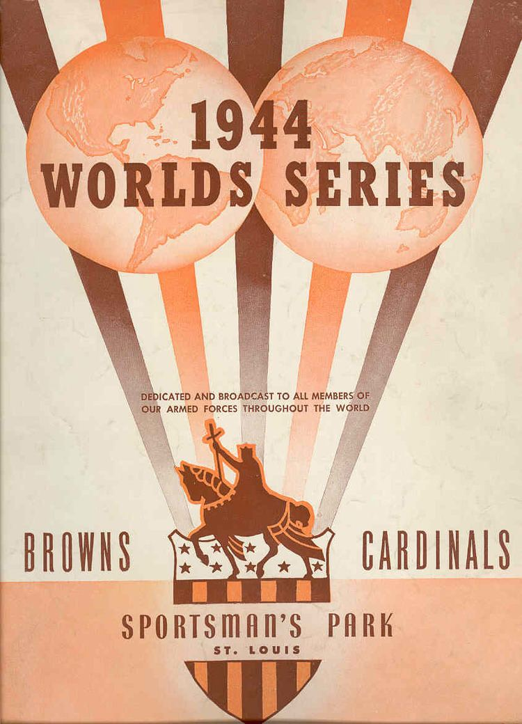 1944 World Series 1944 World Series Winner Lineup Roster Program History Stats Box Scores