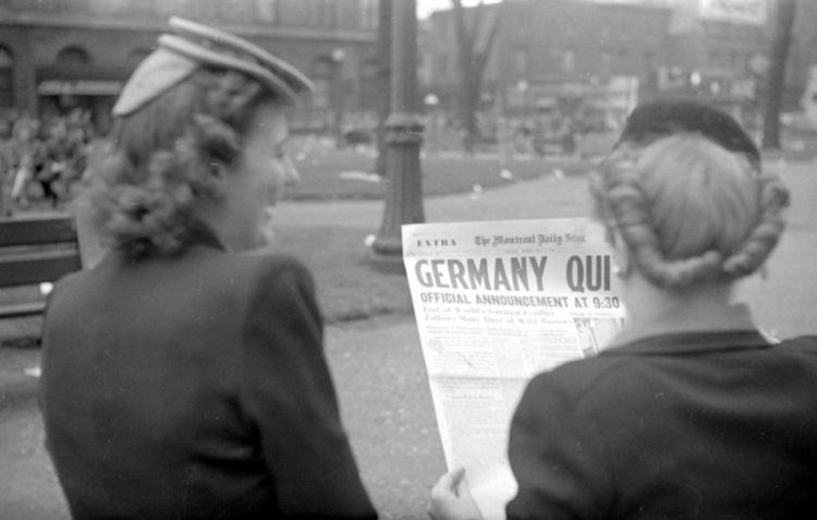 1945 in Canada