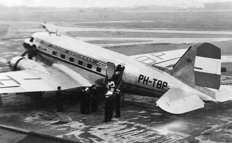 1946 KLM Douglas DC-3 Amsterdam accident