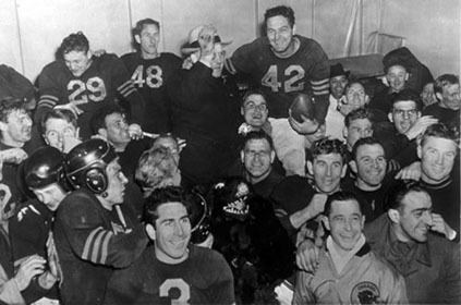 1946 NFL Championship Game goldenrankingscomFootball20Pictures202NFL20C