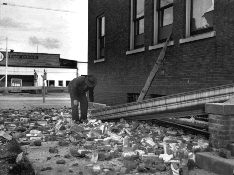 1946 Vancouver Island earthquake A 1946 Vancouver Island earthquake survivor remembers The Province