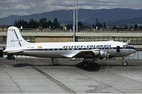 1947 Avianca Douglas DC-4 crash httpsuploadwikimediaorgwikipediacommonsthu